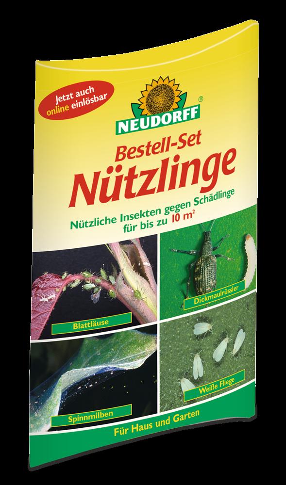 Bestell-Set Nützlinge gegen Schadinsekten