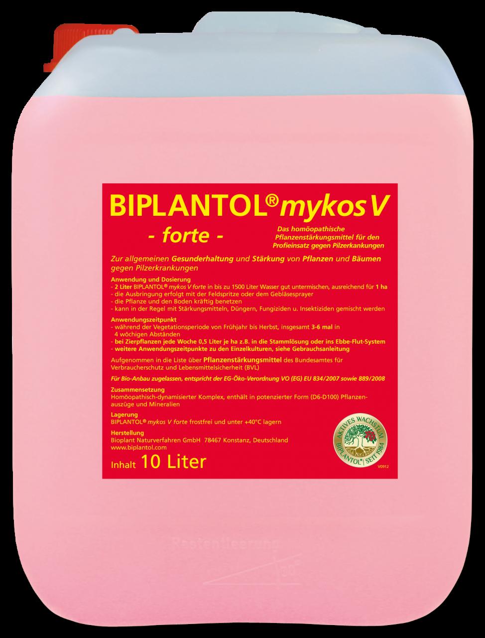 BIPLANTOL® mykos V forte