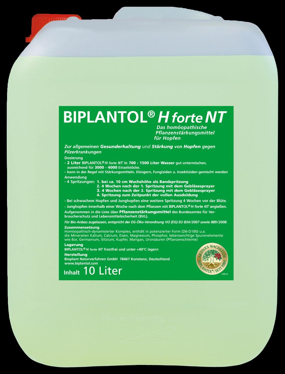 BIPLANTOL® H forte NT